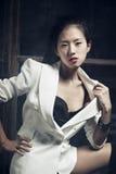 Νέα ιαπωνική γυναίκα στοκ φωτογραφίες με δικαίωμα ελεύθερης χρήσης