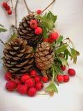 Νέα κάρτα έτους και Χριστουγέννων Στοκ φωτογραφίες με δικαίωμα ελεύθερης χρήσης