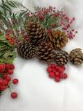 Νέα κάρτα έτους και Χριστουγέννων Στοκ Φωτογραφίες