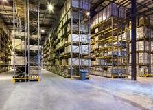 Νέα και σύγχρονη αποθήκη εμπορευμάτων Στοκ εικόνα με δικαίωμα ελεύθερης χρήσης