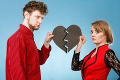 Νέα καρδιά καθορισμού ζευγαριού στοκ φωτογραφία με δικαίωμα ελεύθερης χρήσης