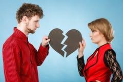 Νέα καρδιά καθορισμού ζευγαριού στοκ εικόνες με δικαίωμα ελεύθερης χρήσης