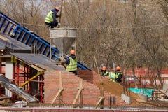 Νέα κατασκευή γεφυρών Στοκ φωτογραφία με δικαίωμα ελεύθερης χρήσης