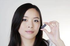 Νέα κινεζική γυναίκα Στοκ Εικόνα