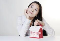 Νέα κινεζική γυναίκα Στοκ εικόνες με δικαίωμα ελεύθερης χρήσης