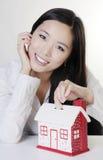 Νέα κινεζική γυναίκα Στοκ Εικόνες