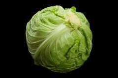 Νέα κινηματογράφηση σε πρώτο πλάνο λάχανων σαλάτας Στοκ Εικόνα