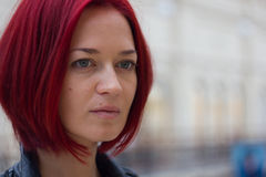 νέα κοκκινομάλλης γυναίκα Στοκ φωτογραφίες με δικαίωμα ελεύθερης χρήσης