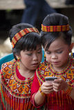 Νέα κορίτσια στη νεκρική τελετή Toraja Στοκ εικόνα με δικαίωμα ελεύθερης χρήσης