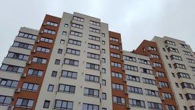 Νέα κτήρια ακίνητων περιουσιών με τα διαμερίσματα Στοκ Εικόνα