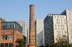 Νέα κτήρια περιοχής Pudong Στοκ Εικόνες