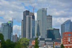 Νέα κτήρια construtions Στοκ φωτογραφία με δικαίωμα ελεύθερης χρήσης