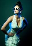 Νέα κυρία μόδας Στοκ εικόνες με δικαίωμα ελεύθερης χρήσης