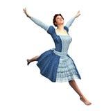 Νέα κυρία Leap στοκ φωτογραφίες με δικαίωμα ελεύθερης χρήσης