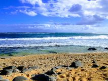 Νέα κύματα & νέο σπάσιμο ημερών στοκ εικόνα
