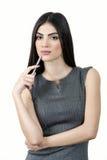 Νέα μάνδρα εκμετάλλευσης γυναικών bisiness στοκ φωτογραφία