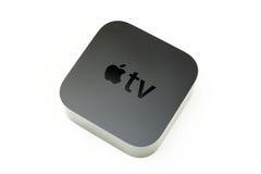Νέα μέσα TV της Apple που ρέουν το φορέα microconsole Στοκ Φωτογραφία
