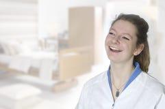 Νέα νοσοκόμα στοκ εικόνα