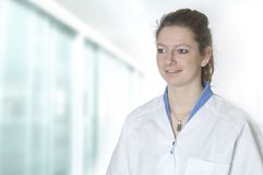 Νέα νοσοκόμα στοκ φωτογραφία με δικαίωμα ελεύθερης χρήσης