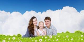 Νέα οικογένεια Στοκ Εικόνες