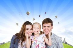 Νέα οικογένεια Στοκ Εικόνα