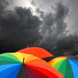 νέα ομπρέλα Στοκ εικόνες με δικαίωμα ελεύθερης χρήσης
