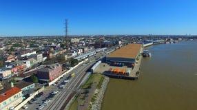 Νέα Ορλεάνη από τον αέρα Στοκ Φωτογραφία
