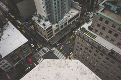 νέα οδός Υόρκη πόλεων Στοκ εικόνες με δικαίωμα ελεύθερης χρήσης