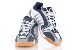 νέα πάνινα παπούτσια Στοκ Εικόνες