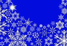 Νέα παιχνίδια έτους ` s και άσπρο χιόνι Στοκ Φωτογραφία