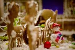 Νέα παιχνίδια δέντρων διακοσμήσεων έτους hristmas Ñ  Στοκ Εικόνες