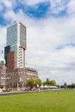 νέα παλαιά πλευρά κτηρίων Στοκ φωτογραφία με δικαίωμα ελεύθερης χρήσης