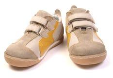νέα παπούτσια μωρών Στοκ Εικόνες