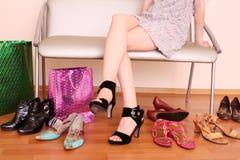νέα παπούτσια Στοκ φωτογραφίες με δικαίωμα ελεύθερης χρήσης