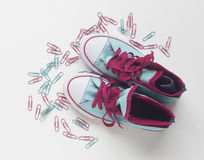 νέα παπούτσια Στοκ εικόνα με δικαίωμα ελεύθερης χρήσης