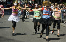νέα παρέλαση Υόρκη χορού πόλεων Στοκ εικόνα με δικαίωμα ελεύθερης χρήσης