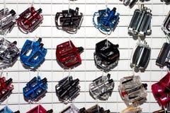 Νέα πεντάλια από το ποδήλατο στοκ εικόνα με δικαίωμα ελεύθερης χρήσης