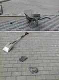 νέα περιοχή σπιτιών οικοδόμησης κτηρίου Στοκ φωτογραφίες με δικαίωμα ελεύθερης χρήσης