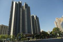 Νέα πολυκατοικία στη Σαγκάη, Κίνα Στοκ Εικόνες
