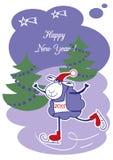 Νέα πρόβατα έτους Στοκ Εικόνες