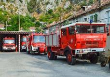 Νέα πυροσβεστική υπηρεσία της Γλασκώβης Στοκ εικόνα με δικαίωμα ελεύθερης χρήσης