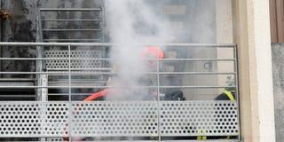 Νέα πυροσβεστική υπηρεσία της Γλασκώβης στοκ εικόνες με δικαίωμα ελεύθερης χρήσης