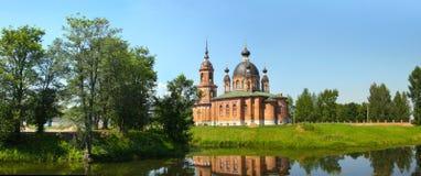 νέα πόλη της Ρωσίας καθεδρ& Στοκ εικόνες με δικαίωμα ελεύθερης χρήσης