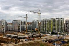 Νέα πόλη Στοκ Εικόνες