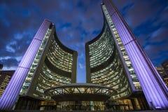 Νέα πόλη Hall& x28 Toronto& x29  Στοκ φωτογραφίες με δικαίωμα ελεύθερης χρήσης