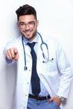 Νέα σημεία γιατρών σε σας Στοκ Εικόνες