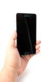 Νέα σημείωση 5 γαλαξιών Smartphone Samsung με τη μάνδρα του S Στοκ Εικόνα