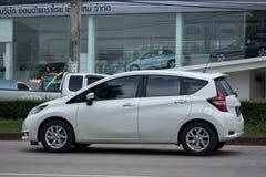 Νέα σημείωση της Nissan αυτοκινήτων Eco Στοκ εικόνα με δικαίωμα ελεύθερης χρήσης