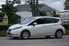Νέα σημείωση της Nissan αυτοκινήτων Eco Στοκ Εικόνα