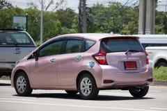 Νέα σημείωση της Nissan αυτοκινήτων Eco Στοκ φωτογραφίες με δικαίωμα ελεύθερης χρήσης